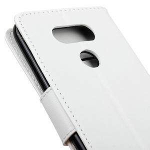 Lees peněženkové pouzdro na LG G5 - bílé - 4