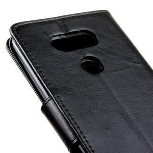 Lees peňaženkové puzdro pre LG G5 - čierne - 4