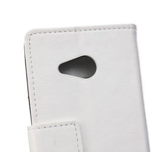 GX koženkové puzdro pre mobil Microsoft Lumia 550 - biele - 4