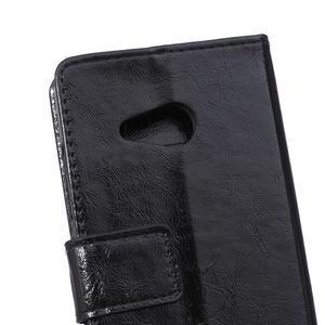 GX koženkové puzdro na mobil Microsoft Lumia 550 - čierne - 4