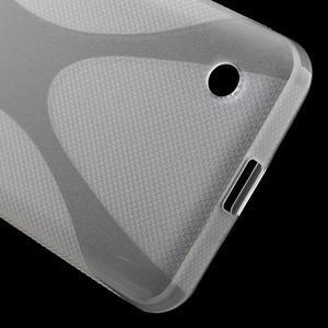 X-line gélový obal pre Microsoft Lumia 550 - transparentný - 4