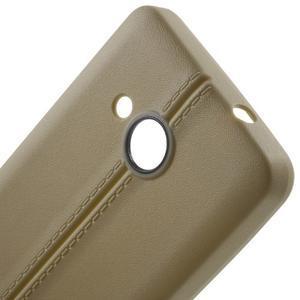 Lines gélový kryt so švy na Microsoft Lumia 550 -  champagne - 4
