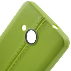 Lines gélový kryt so švy na Microsoft Lumia 550 -  zelený - 4