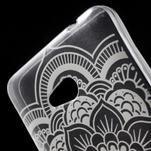 Transparentný gélový obal pre Microsoft Lumia 640 - kvetina - 4/5