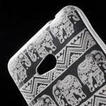 Transparentný gélový obal pre Microsoft Lumia 640 - kúzelný sloni - 4/5