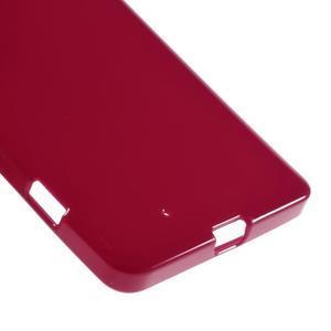 Jelly gelový obal na Microsoft Lumia 950 - červený - 4