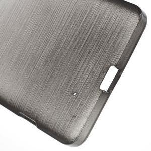 Brush hladký gelový obal na Microsoft Lumia 950 - černý - 4
