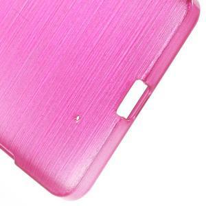 Brush hladký gélový obal pre Microsoft Lumia 950 - rose - 4