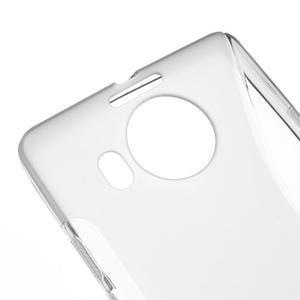 S-line gélový obal pre mobil Microsoft Lumia 950 XL - sivý - 4