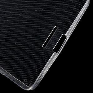 Ultratenký gélový obal pre Microsoft Lumia 950 XL - Transparentný - 4