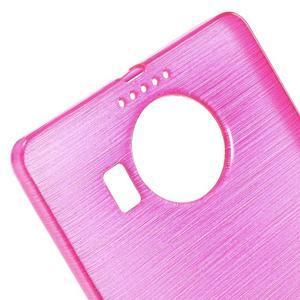 Brushed gélový obal pre mobil Microsoft Lumia 950 XL - rose - 4