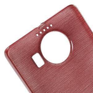 Brushed gélový obal pre mobil Microsoft Lumia 950 XL - ružové - 4