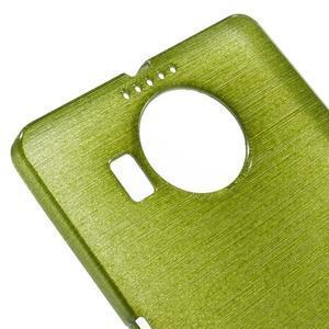 Brushed gélový obal pre mobil Microsoft Lumia 950 XL - zelený - 4