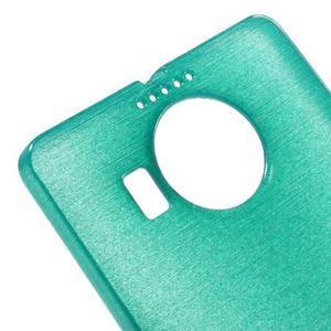 Brushed gelový obal na mobil Microsoft Lumia 950 XL - modrý - 4