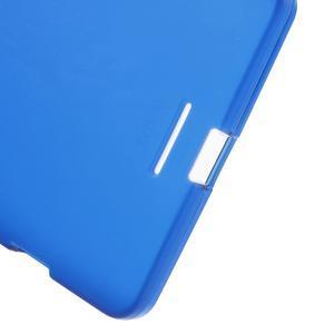 Matný gélový obal pre mobil Microsoft Lumia 950 XL - modrý - 4