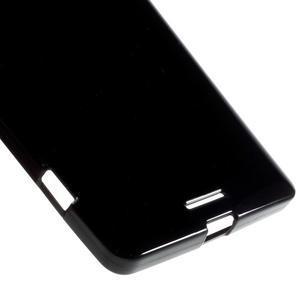 Jelly lesklý gelový obal na mobil Microsoft Lumia 950 XL - černý - 4