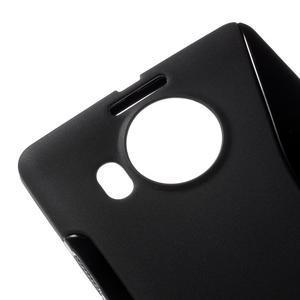 S-line gelový obal na mobil Microsoft Lumia 950 XL - černý - 4