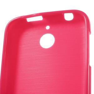 Jelly lesklý gelový obal na HTC Desire 510 - rose - 4