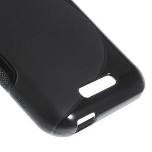 S-line gélový obal pre mobil HTC Desire 510 - čierný - 4