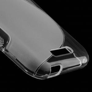 S-line gélový obal pre mobil HTC Desire 510 - transparentný - 4