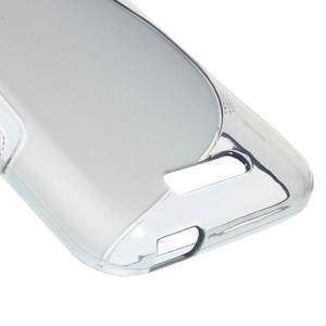 S-line gélový obal pre mobil HTC Desire 510 - šedý - 4