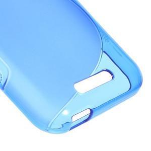 S-line gélový obal pre mobil HTC Desire 510 - modrý - 4