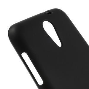 Matný gélový obal pre mobil HTC Desire 620 - čierný - 4