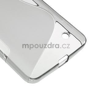 Gélový s-line obal na Microsoft Lumia 640 - šedý - 4