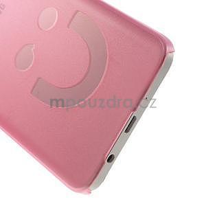 Plastový obal na Samsung Galaxy A3 - růžový - 4