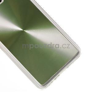 Metalický plastový obal na Samsung Galaxy A3 - zelený - 4