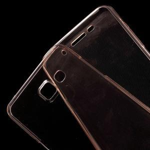 Gélový obal 2v1 pro zadní kryt a displej pre Samsung Galaxy A5 (2016) - rose gold - 4