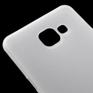 Matný gélový kryt pre mobil Samsung Galaxy A5 (2016) - biely - 4
