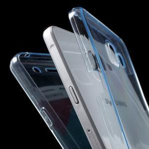Gélový obal 2v1 pro zadní kryt a displej pre Samsung Galaxy A5 (2016) - modrý - 4