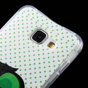 Tvarovaný gélový obal pre Samsung Galaxy A5 (2016) - sova - 4