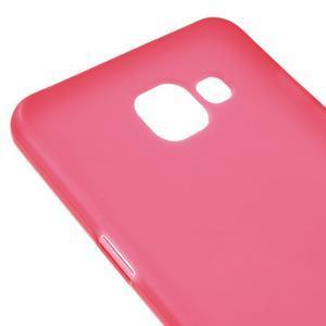 Matný gélový kryt pre mobil Samsung Galaxy A5 (2016) - červený - 4