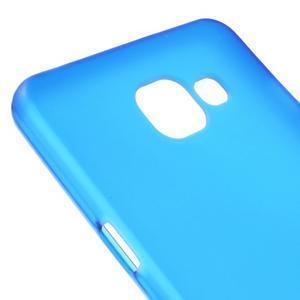 Matný gelový kryt na mobil Samsung Galaxy A5 (2016) - modrý - 4