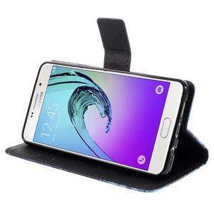 Štýlové puzdro pre mobil Samsung Galaxy A5 (2016) - vlci - 4