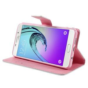Stylové pouzdro na mobil Samsung Galaxy A5 (2016) - soví rodinka - 4