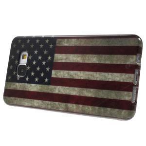 Obal s motívom pre mobil Samsung Galaxy A5 (2016) - US vlajka - 4