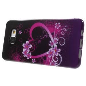 Obal s motívom pre mobil Samsung Galaxy A5 (2016) - srdca - 4