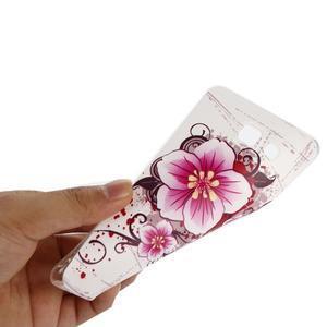 Ultratenký gelový slim obal na Samsung Galaxy A5 (2016) - květ - 4