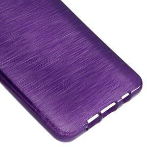 Brush gélový obal pre Samsung Galaxy A5 (2016) - fialový - 4