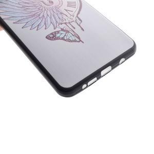 Gélový obal pre mobil Samsung Galaxy A5 (2016) - antické hodiny - 4