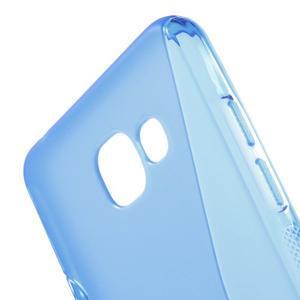 S-line gélový obal pre mobil Samsung Galaxy A5 (2016) - modrý - 4
