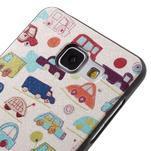 Gélový obal s koženkovým vzorem pre Samsung Galaxy A5 (2016) - autíčka - 4/6