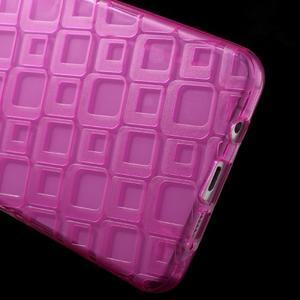 Square gelový obal na mobil Samsung Galaxy A5 (2016) - rose - 4