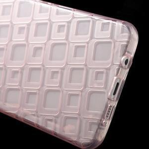Square gelový obal na mobil Samsung Galaxy A5 (2016) - růžový - 4