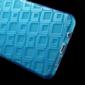 Square gelový obal na mobil Samsung Galaxy A5 (2016) - modrý - 4