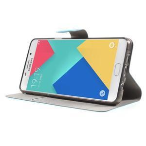 Horse puzdro pre mobil Samsung Galaxy A5 (2016) - modré - 4