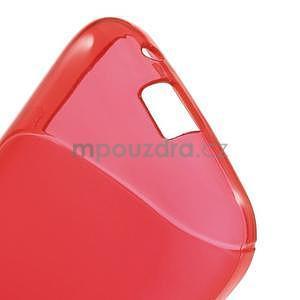 Gélové s-line puzdro na Samsung Galaxy Ace 4 - červené - 4